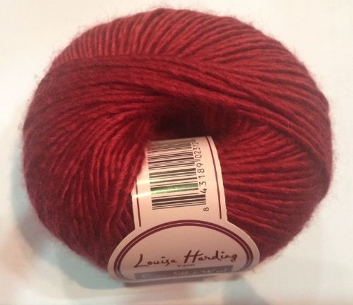 Louisa Harding Grace silk & wool - Red